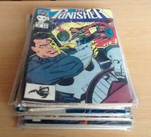 """""""The Punisher"""" série de 1987 set de 35 comics (Marvel)"""