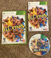 Xbox 360 - WWE All Stars - Complete CIB w/ Manual - Tested & Guaranteed