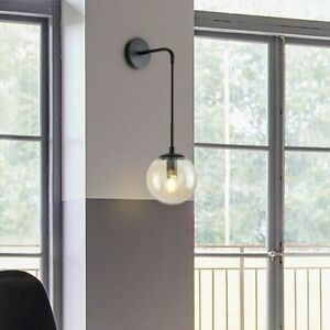 New Nordic style Glass ball Wall lamp LED Bracket light For Bedroom Living room