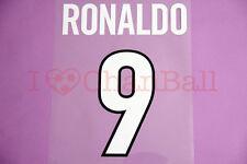 Ronaldo #9 1998-1999 Inter Milan Homekit Nameset Printing