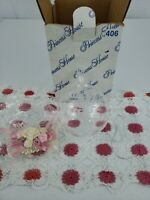 Vintage Princess House Crystal Ornament with Victorian Lace & Flowers 406 in box