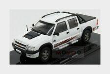Chevrolet S-10 Double Cabine Rodeio Pick-Up 2011 White EDICOLA 1:43 EDICHEV049