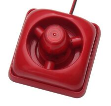 LED 110dB Alarmsirene Alarm Sirene Alarmanlage Blitzlicht Alarm Signalgeber