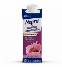 Nepro Nutrition Supplement Shake w/Carb Steady: Mixed Berry 8oz Carton (Case/24)