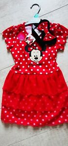Girls Nutmeg Minnie. Mouse Dress