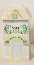 New listing 1991 Lenox Village Porcelain Salt Shaker Replacement House Unused