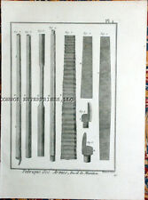 1777 DIDEROT FABRICATION OF ARMS-MACHINES,AND TOOLS 3 ENGRAVINGS 1002