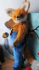 """PDF Sewing E-Pattern 14"""" Funny Fox in Pants Pattern/cute funny toy instructions"""