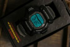 NOS Rare vintage Casio DW-9100 Aka Riseman G-Shock digital watch Japan Made