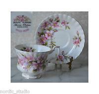 WILD ROSE - TEA CUP SAUCER, TEACUP SET, Royal Albert, bone china, England