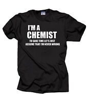Chemist T-Shirt Gift For Chemist Profession Tee Shirt Christmas Gift