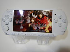 Sony Playstation PSP 3000 Console Pearl White Very good condition Console only