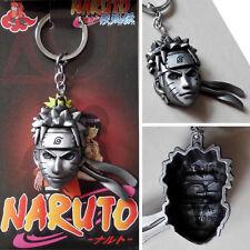 Anime Naruto Shippuden Uzumaki Naruto 6cm Metal Keychain Cosplay Keyring