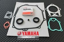 YAMAHA OEM GOLF CART MOTOR ENGINE REBUILD KIT RINGS, GASKETS,SEALS G2 1985-1991