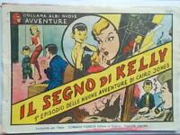il segno di kelly nuove avventure di cairo jones 1 albo tedeschi fumetti 1947