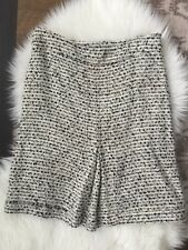 TORY BURCH Tweed black and White women's Knit skirt Size 6