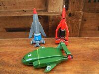 Thunderbirds are Go Small Plastic Thunderbird 1 2 3 Bundle