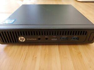 HP 800 EliteDesk G2 MINI, Intel Core I5, PC Mini Desktop