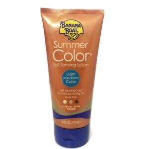 Banana Boat Summer Colour Self-Tanning Lotion, Light/Medium, 6 oz