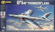 Republic RF-84F Thunderflash,1:48,Tanmodel,Plastik,TOP;Luftwaffe,Dutch,NEUHEIT