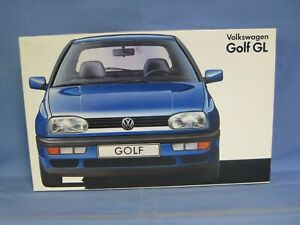 Fujimi Volkswagen Golf GL Model Car Kit 1/24 Scale, SEALED PARTS BAGS