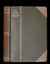 1886 Rare Victorian Book - WALDEN by Henry David THOREAU With Introductory Note.