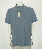 New Peter Millar Seaside Wash Dark Blue Golf Polo Shirt Mens Sz XL