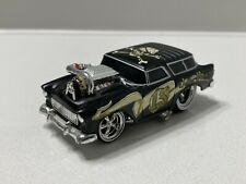 Muscle Machines 1:64 Series 5 1955 Chevrolet Nomad Wagon Jolly Roger RARE