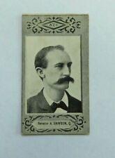 1901 Cigarette Card American Tobacco Company ATC Australian Parliament Dawson
