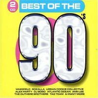 90's-Best of the (30 tracks, 2003, Disky) Atlantic Ocean, Rozalla, Alex.. [2 CD]