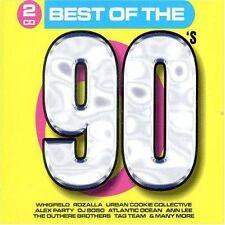 90's-Best of the (30 tracks, 2003, Disky) Atlantic Ocean, Rozalla, Alex.. [2 CD]