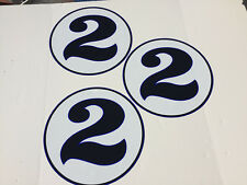 Dan Gurney Saleen Ford GT Mustang Dealer Blue Roundels Promotional Graphics Kit