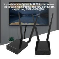 100m HDMI Wireless Extender Transmitter Sender Empfänger Adapter 100-240V EU