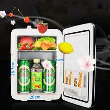 110V/12V Car Portable 10L Mini Fridge Freezer Cooler Refrigerator Home Office US