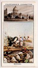 Bengal Calcutta India British Colony 1930sTrade Ad Card
