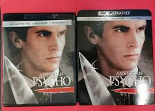 American Psycho (2000) 4K Uhd + Blu-Ray + Digital Code - with Slipcover