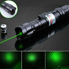 Professional Laser Pointer Pen Boxed 1mw 532nm Green Light 5 Star Cap Adjustable