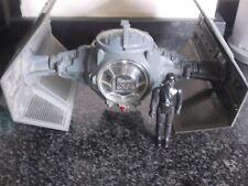 Vintage Star Wars Darth Vaders Tie Fighter 1978 + Darth Vader Figure.