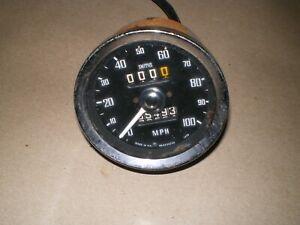 MG Midget Austin Healey Sprite Smiths Speedometer  '71