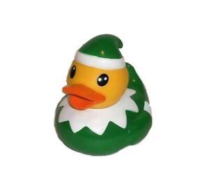 Rubber Ducky Christmas Little Elf Rubber Duck Infantino Bath Toy