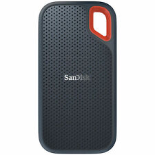 SanDisk - Extreme 2TB External USB 3.1 Gen 2 Type-A/Type-C Portable Solid-Sta...
