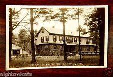 A.D. Converse Residence Winchendon Massachusetts MA Putnam Photo Postcard 1920s