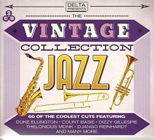 THE VINTAGE COLLECTION JAZZ - 3 CD BOX SET - DUKE ELLINGTON & MORE