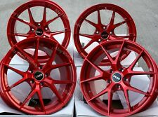 """ALLOY WHEELS X 4 19"""" RED GTO FOR ALFA ROMEO 159 JEEP CHEROKEE SAAB 9-3 9-5 5X110"""