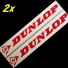 DUNLOP RED 13inch 33cm LONG decal sticker decals r1 moto gp racing sponsor gsxr