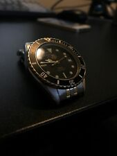 Vintage TAG Heuer 1000 Professional Two Tone Stainless Steel Mens Watch 980.020N