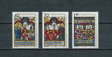 Liechtenstein   671-3  Mint, Heraldic Panels, 1979