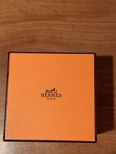 HermÈS Paris Small Gift Box Empty With Velvet Logo Bag And Gift Card For Maxi-Tw