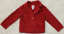 Beautees toddler girl's red corduroy jacket size 2T