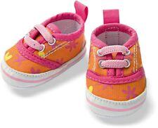 Heless Puppenschuhe, bunte Sneakers für Puppen von 38  bis 45 cm